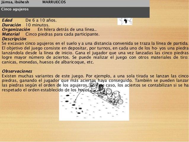 juegos de marruecos