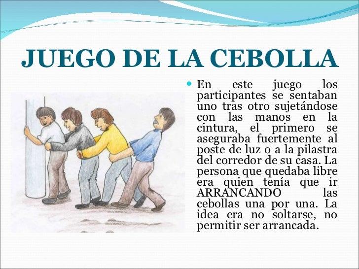 Juegos Tradicionales Ecuatorianos Juego De La Cebolla