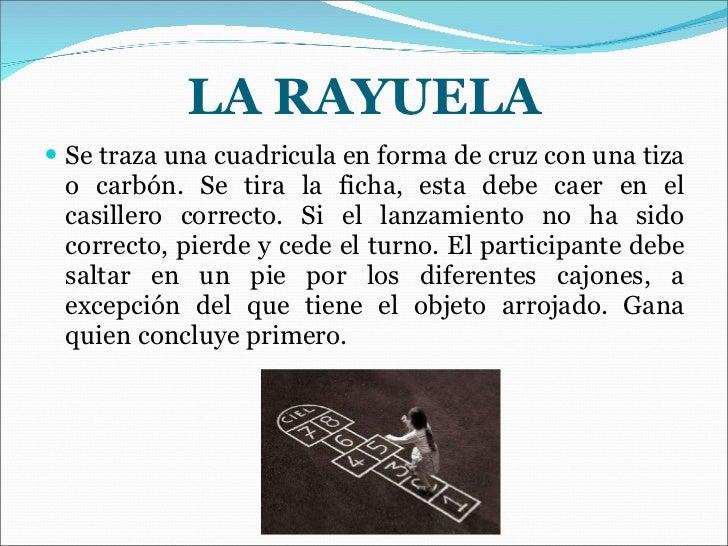 Juegos Tradicionales Ecuatorianos La Rayuela
