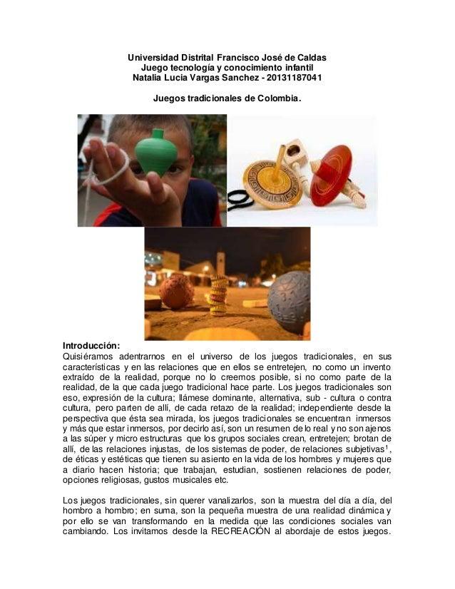Juegos Tradicionales Del Pacifico Colombiano