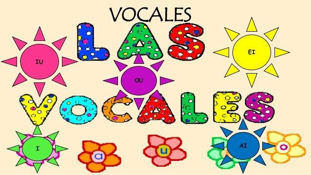 JUEGO DE LAS VOCALES Y COLORES EN INGLES
