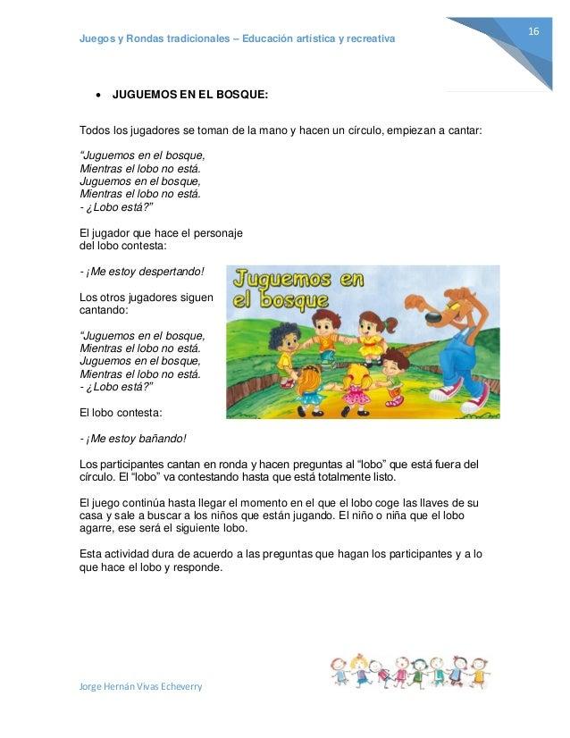 El bosque de las actividades (español e inglés)   Juegos en