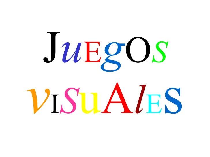 Juego Visual
