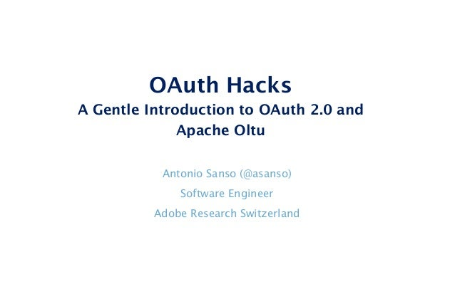 OAuth Hacks