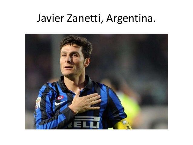 Javier Zanetti, Argentina.