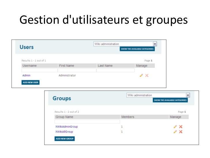 Xwiki framework de d veloppement pour les plateformes collaboratives - Presse papier open office ...