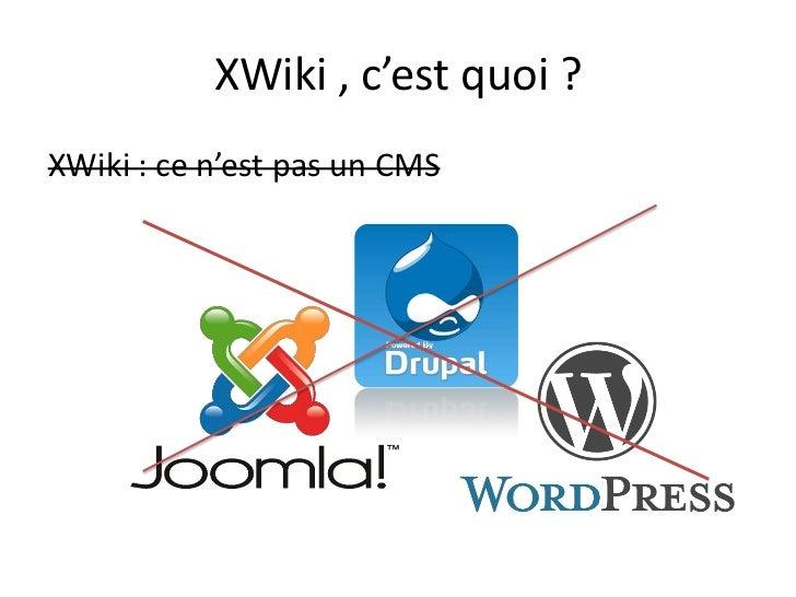 xwiki framework de d233veloppement pour les plateformes