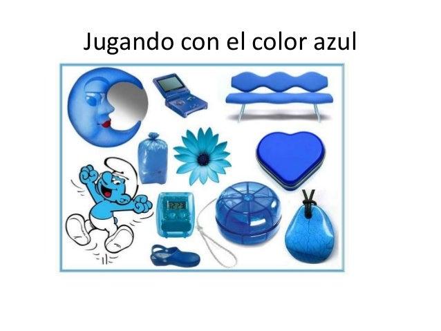 Jugando con el color azul