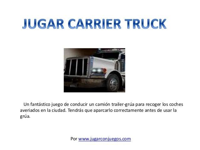 Un fantástico juego de conducir un camión trailer-grúa para recoger los coches averiados en la ciudad. Tendrás que aparcar...