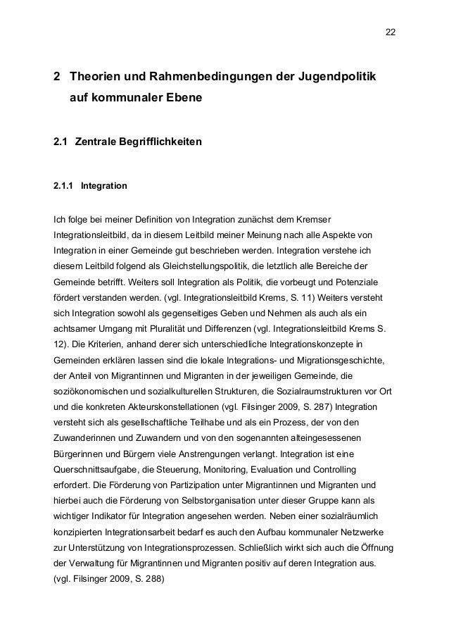 Kommunale Jugendpolitik in Österreich am Beispiel Jugendzentrum Horns…
