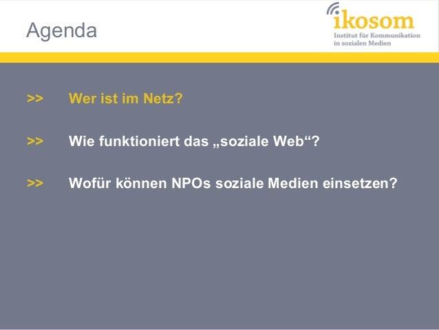 Nutzung und Reichweite sozialer Medien in der NGO-Arbeit Slide 3