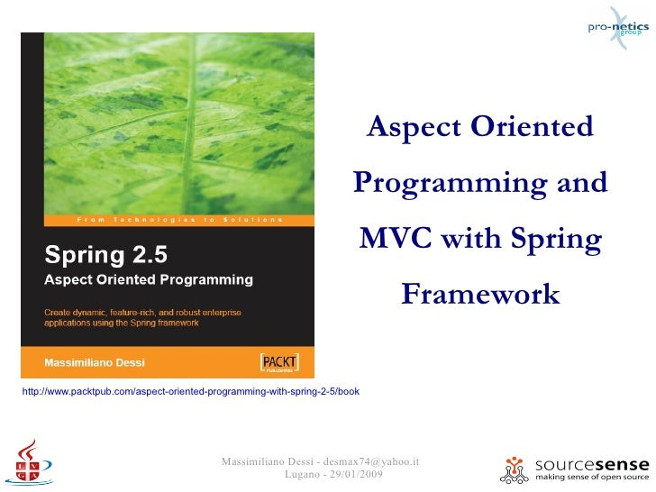 Aspect Oriented                                                                       Programming and                     ...