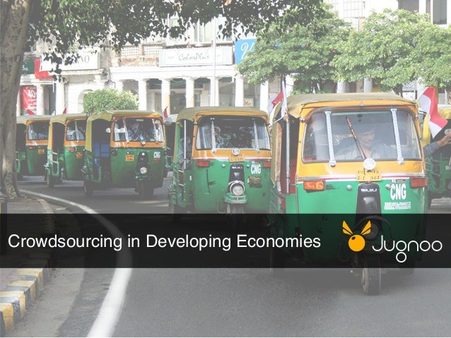 Crowdsourcing in Developing Economies