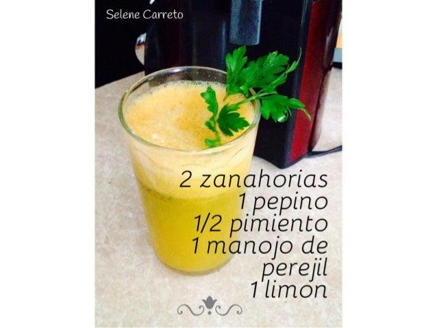 Guia de jugos verdes para un mes, fácil y sencillo.