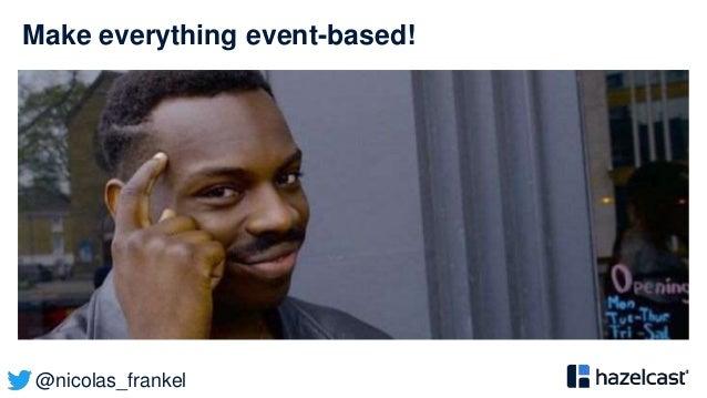 @nicolas_frankel Make everything event-based!