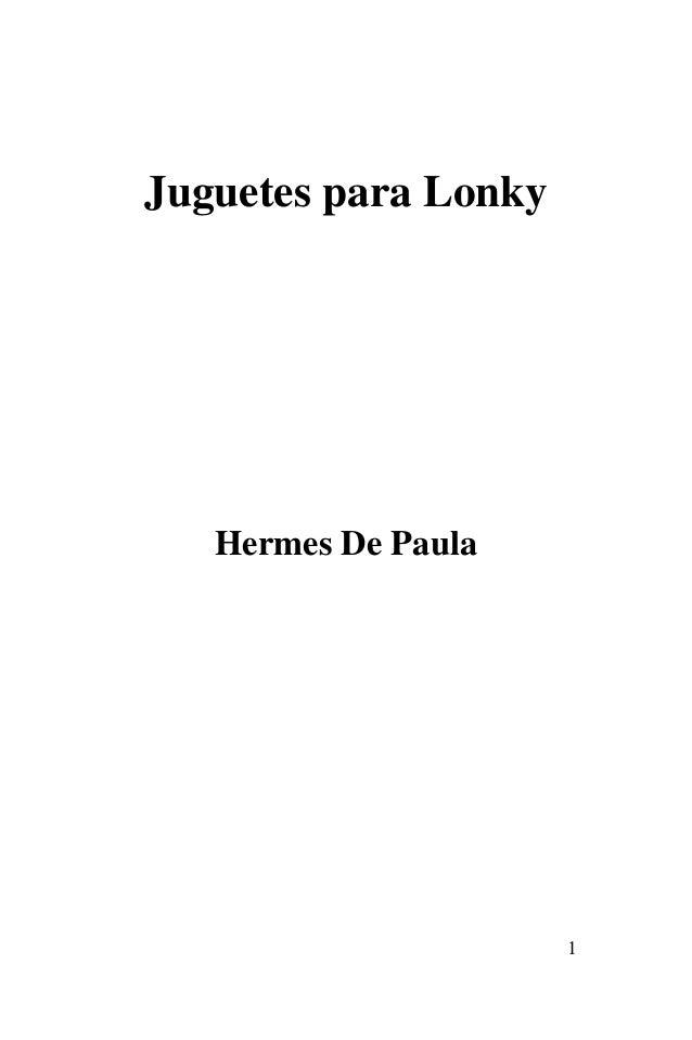 1 Juguetes para Lonky Hermes De Paula