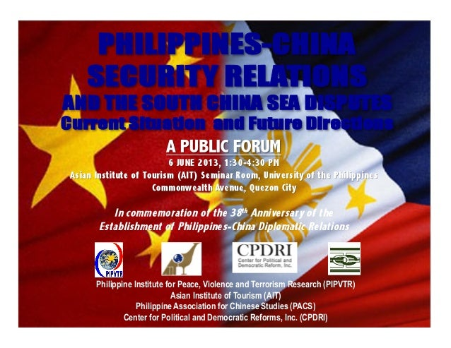 Philippine Institute for Peace, Violence and Terrorism Research (PIPVTR)Asian Institute of Tourism (AIT)Philippine Associa...