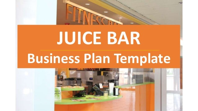 Business plan for juice company