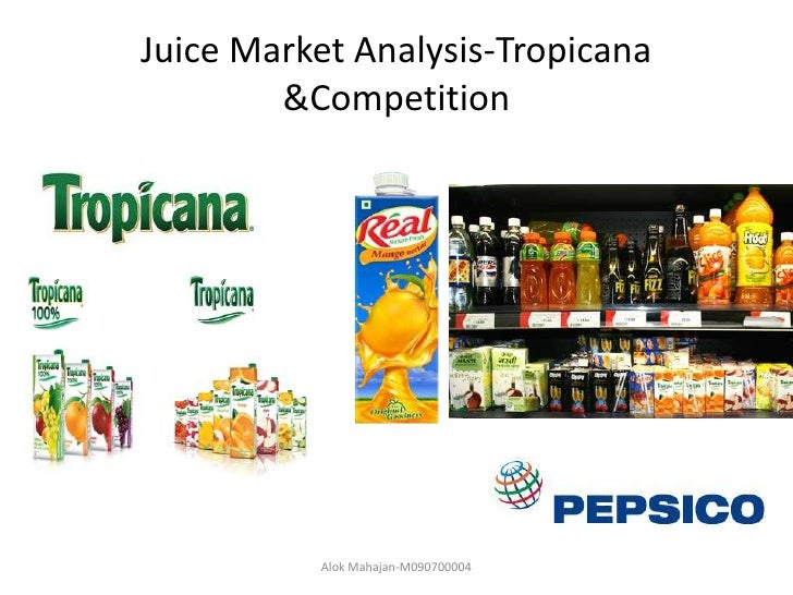 tropicana analysis Tropicana case study the new package no longer had the iconic orange with a straw coming out of it the new packaging showed a glass of orange juic.