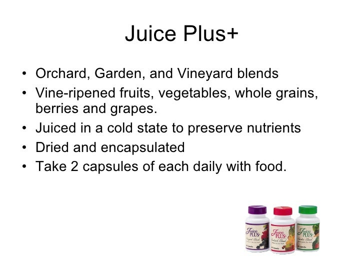 Juice Plus With Bill