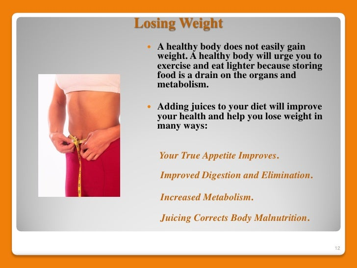 abstinence to lose weight