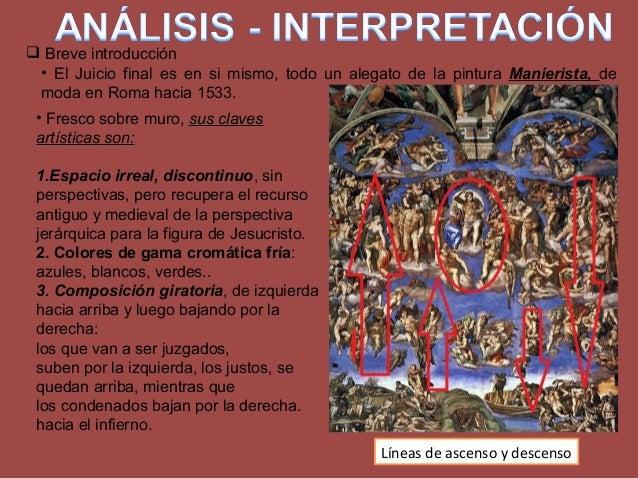  Breve introducción • Fresco sobre muro, sus claves artísticas son: 1.Espacio irreal, discontinuo, sin perspectivas, pero...