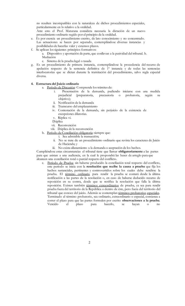 2 no resulten incompatibles con la naturaleza de dichos procedimientos especiales, particularmente en lo relativo a la ora...