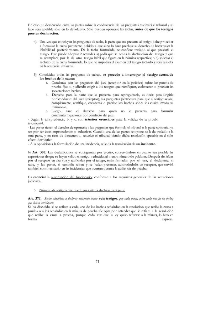 Derecho Procesal Civil - El Juicio Ordinario Civil de Mayor Cuantía