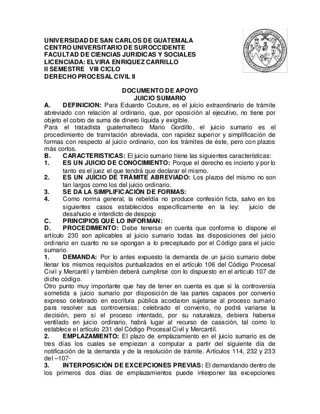 UNIVERSIDAD DE SAN CARLOS DE GUATEMALA CENTRO UNIVERSITARIO DE SUROCCIDENTE FACULTAD DE CIENCIAS JURIDICAS Y SOCIALES LICE...