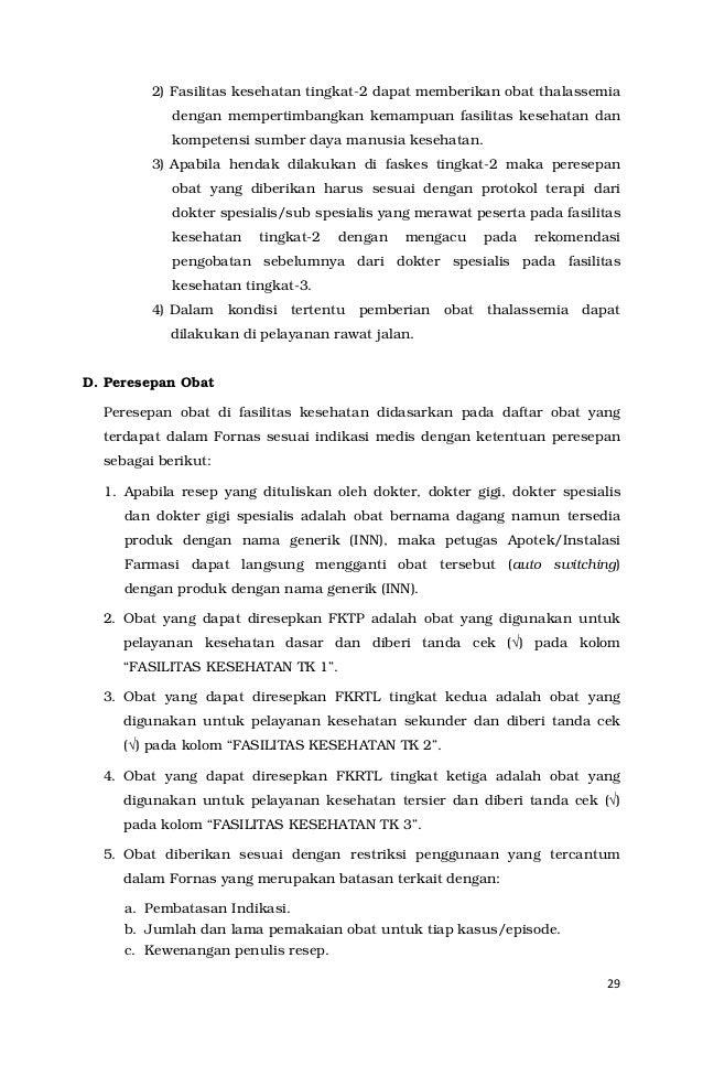 Pedoman Penerapan Formularium Nasional