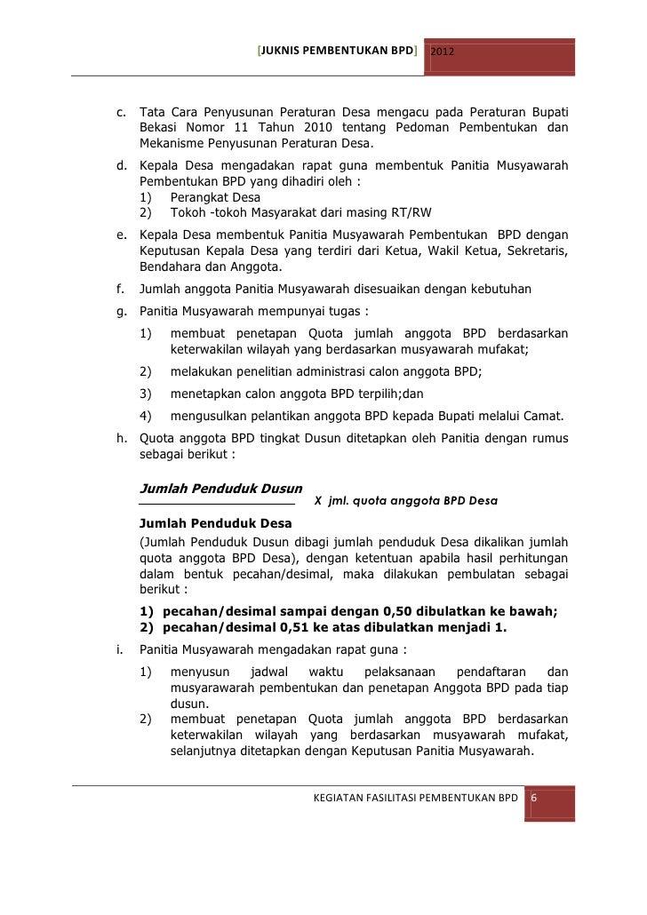 Contoh Pidato Musyawarah Desa