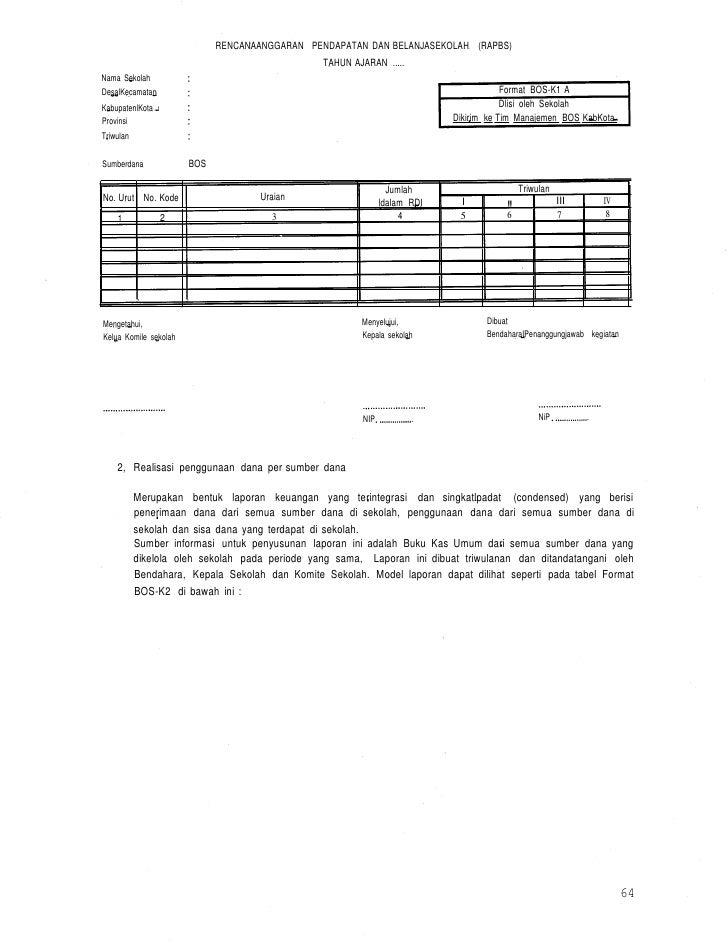 Juknis Laporan Keuangan