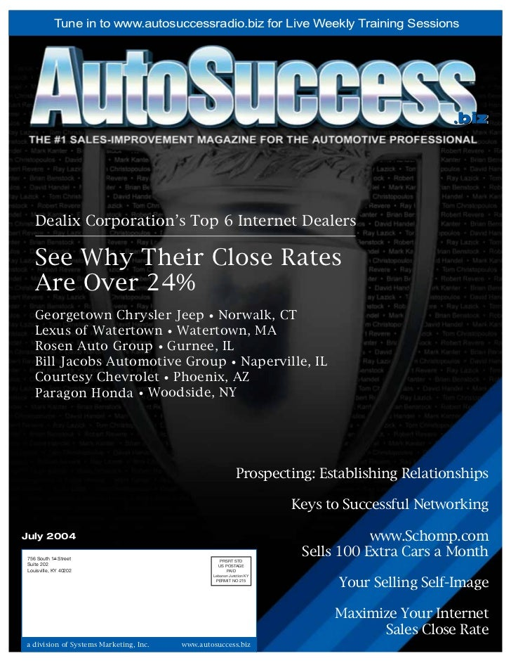 Tune in to www.autosuccessradio.biz for Live Weekly Training Sessions                                                     ...