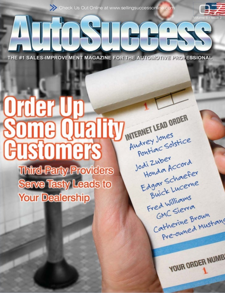 Check Us Out Online at www.sellingsuccessonline.com                                                      Volume 6   •   Is...