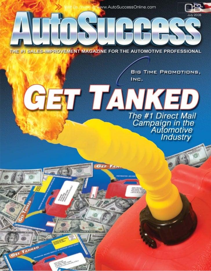 Visit us online at www.AutoSuccessOnline.com                                               July 2008