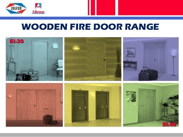 Julfer S.A. Wooden Fire Doors