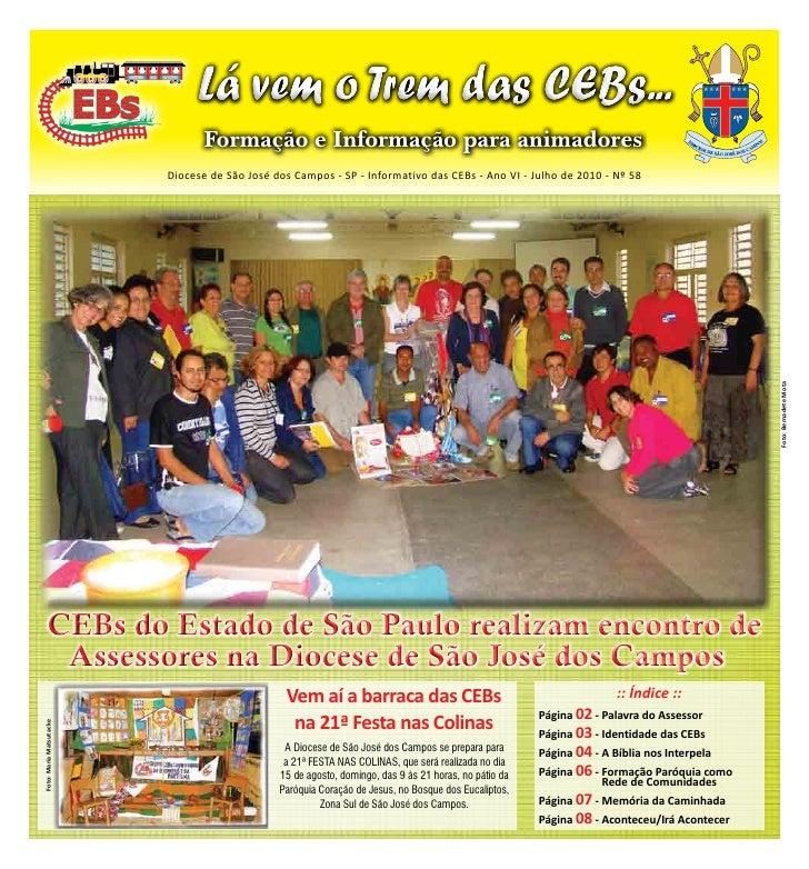 Informativo das CEBs - julho 2010