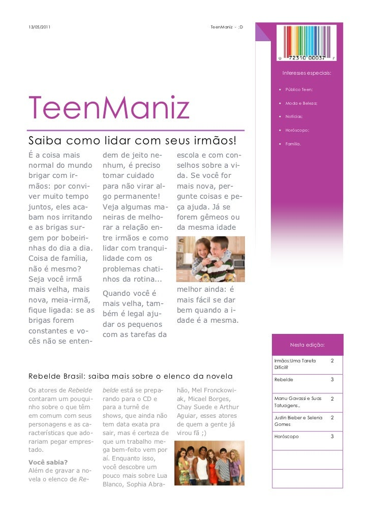 13/05/2011                                                   TeenManiz - ;D                                               ...