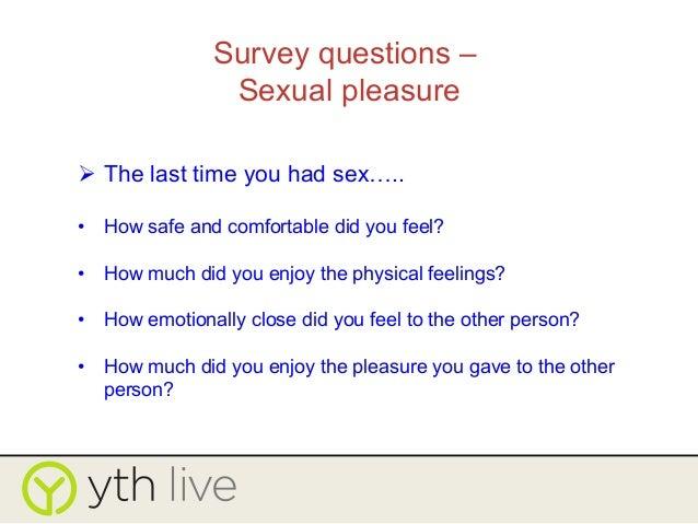 Safe sex etiquette