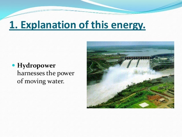 hydroelectric power with bibliography I'm working in a project about mini-hydroelectric power plants which use groundwaters in canary islands (spain) there are some examples of this type of power plants, however i can not find other .