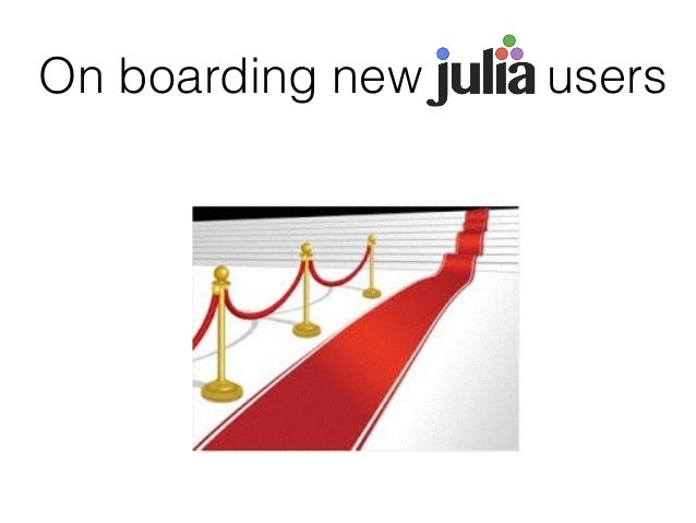 On boarding new users