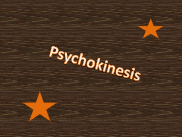 Psychokinesis is a term coined by publisher HenryHolt to refer to the direct influence of mind on aphysical system that ca...