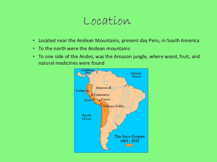Inca Empire presentation Zeke Julia Daniella