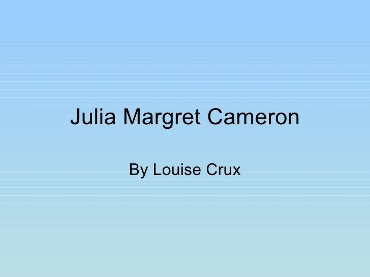 Julia margret cameron