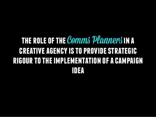 What is Comms Planning? Slide 2