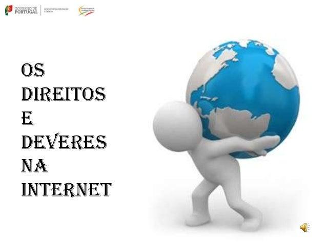 OsDireitoseDeveresnaInternet
