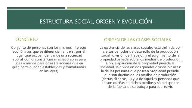Clases Sociales En El Mundo Contemporáneo