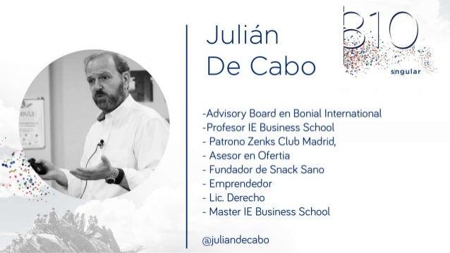 """jcabo@faculty.ie.edu """"Emprender a los 50"""" Presentación Grupo Julián de Cabo Madrid, 8 de Octubre 2.015"""