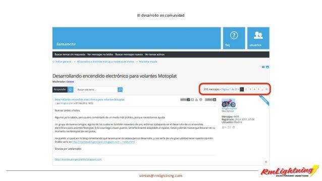 """ventas@rmlightning.com Y el resultado • ¡Campeones de España de Cross en clásicas 2014! • Superamos la Operación """"Barcelon..."""