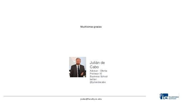 """Julián de Cabo en sngular810 """"Emprender a los 50"""""""